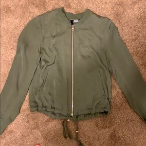 Olive green jacket from h&m